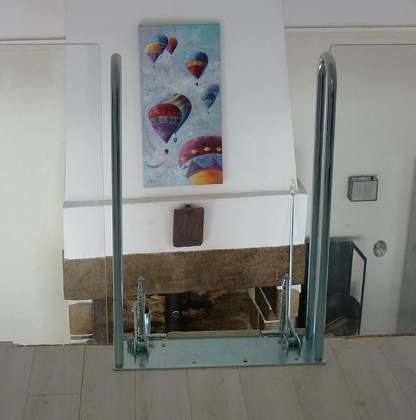 fixation escalier palco