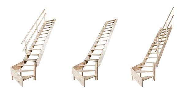 gamme escalier meunier bois MSW R