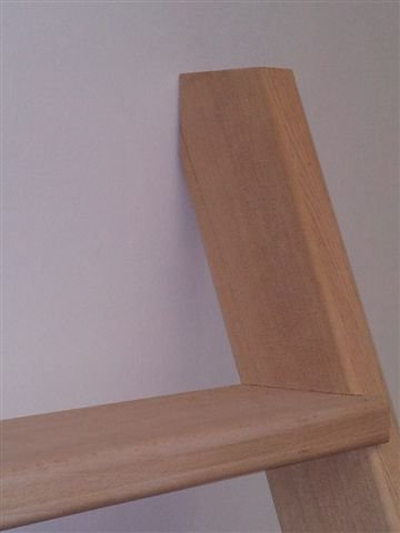 haut de l'escalier de meunier