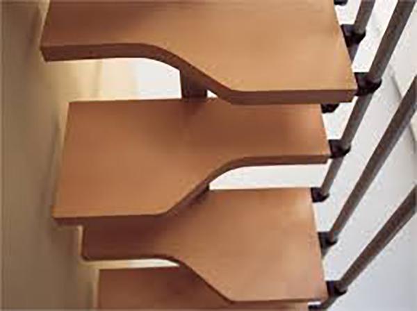 marche escalier droit