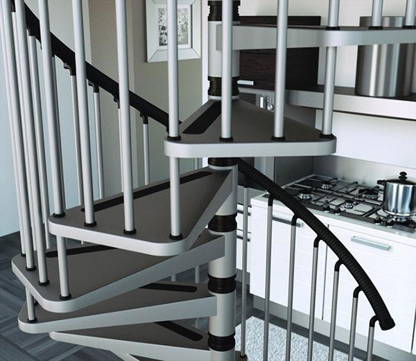 marche de l'escalier