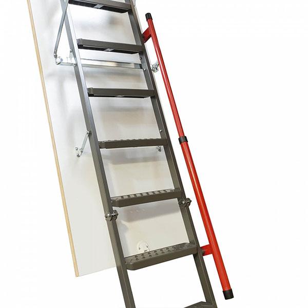 rampe de l'escalier