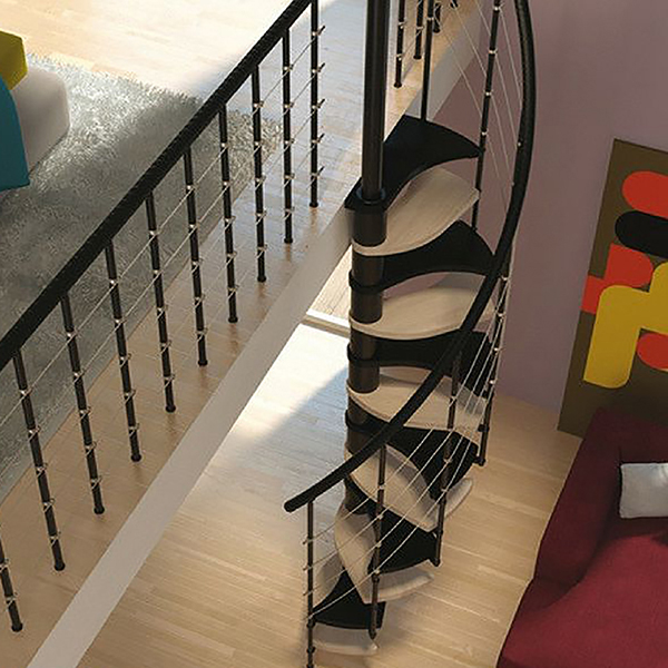 situation escalier colimacon trio