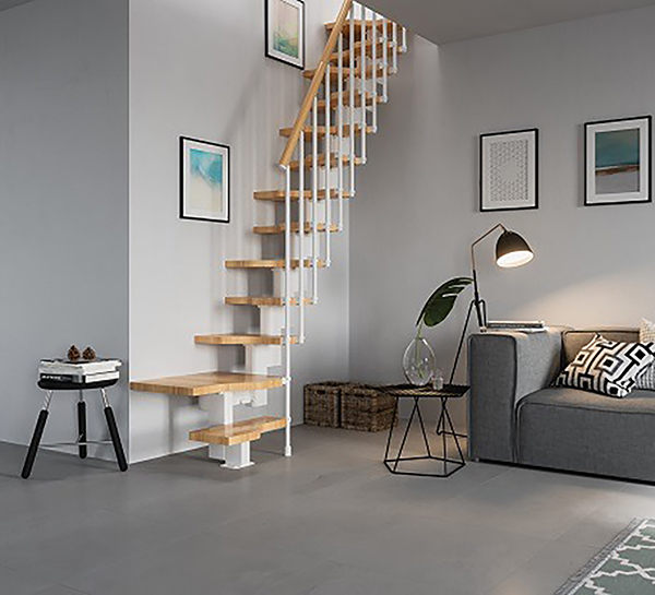 situation escalier gain place