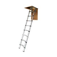escalier escamotable télescopique