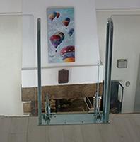 Fixation de l'escalier de meunier Palco