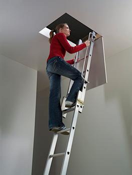 monter a l'escalier escamotable