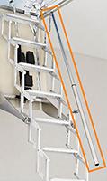 escalier escamotable mural pour un acc s facile. Black Bedroom Furniture Sets. Home Design Ideas