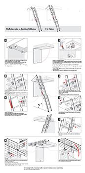 notice de l'escalier escamotable