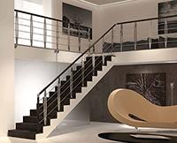 rampe escalier leaf