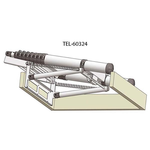 Système d'escalier escamotable de meunier