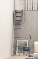 Schéma de l'escalier escamotable Palco