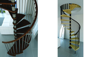Escalier gain de place pour un petit espace gr ce un un encombrement minimal - Escalier gain de place pas cher ...