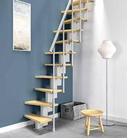 escalier gain de place pour un petit espace gr ce un un encombrement minimal. Black Bedroom Furniture Sets. Home Design Ideas