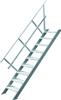 escalier industriel 45°