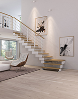 Escalier Quart Tournant Composity