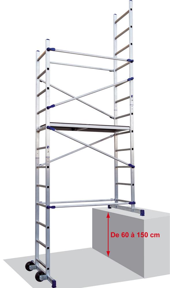 echafaudage pour escaliers