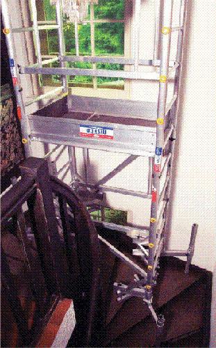 echafaudage pour escalier2