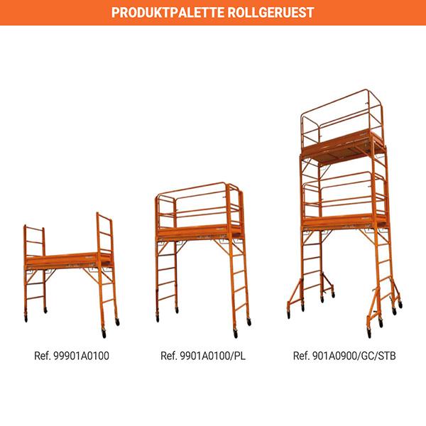 produktpalette rollgeruest 9901A