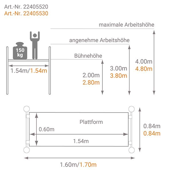 schema teleskopgerust xtower