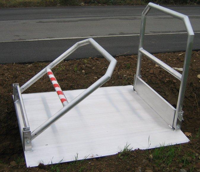 einklappbare Geländer