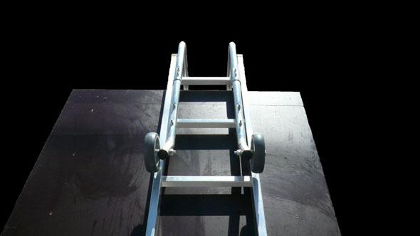 Dachleiter p1020125 schwarz