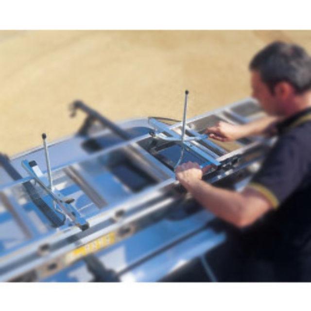 Leiterbefestigung für Dachträger