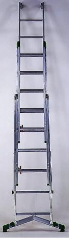Seilzugleiter 3-teilig