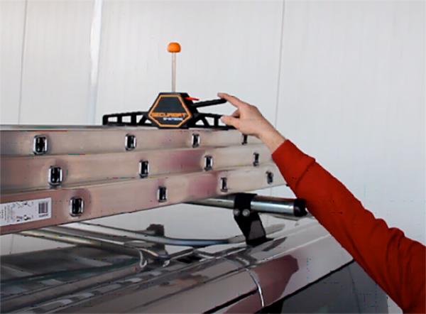 benutzung Leiterbefestigung fuer Dachtraeger FIXGALPR