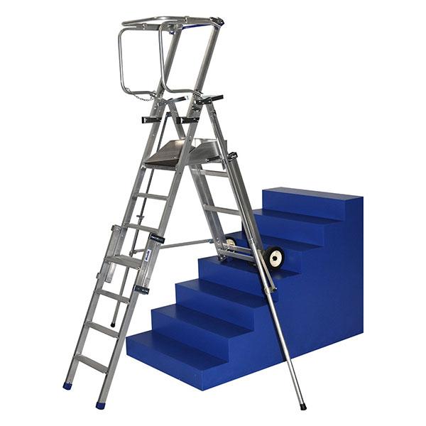 podesttreppe teleskopische PIRLXT7 treppe