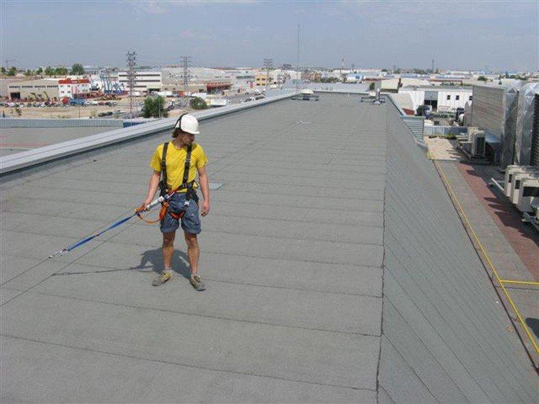 ligne de vie pour toiture