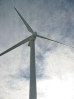 Ligne de vie verticale pour eolienne