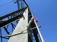 Ligne de vie verticale pour pylone