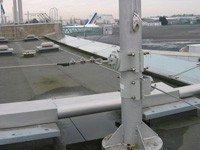 Ligne de vie horizontale aluminium