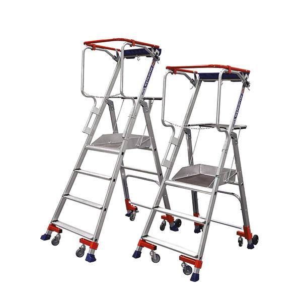 gamme escabeau roulant wheelys 501903