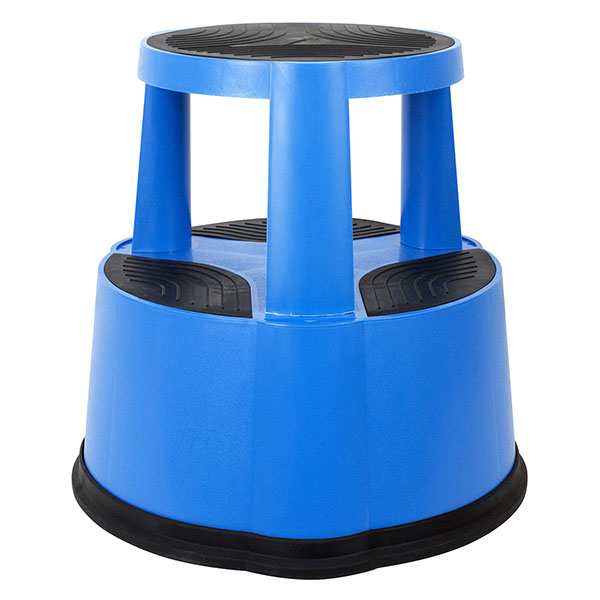 marchepied tabouret bleu