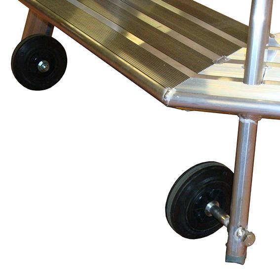 roues marchepied trapezoidal