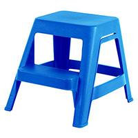 Marchepied plastique Bleu