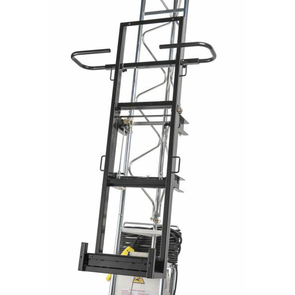 cadre a plaques vertical castor steel