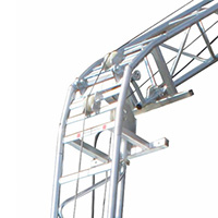 GENOUILLERE CASTOR STEEL