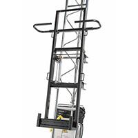 Monte materiaux + Cadre à plaques vertical / Panneaux solair
