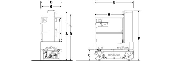 schema de la nacelle verticale