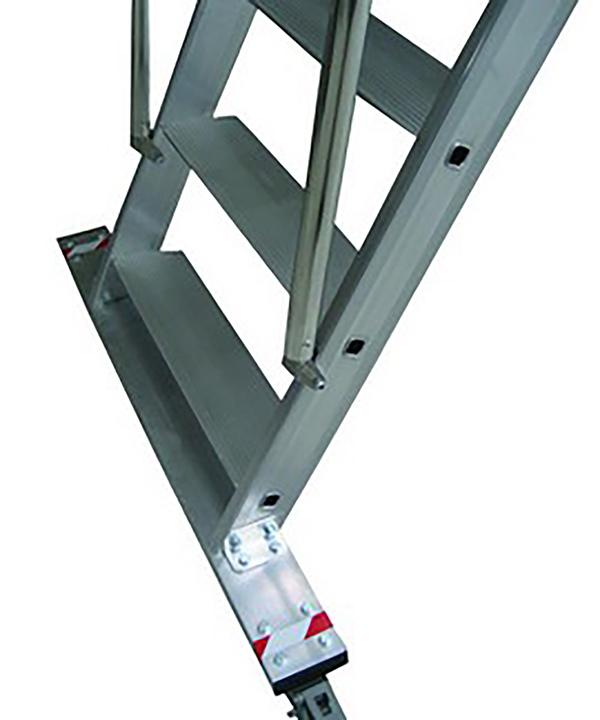 gradini piattaforma con ruote