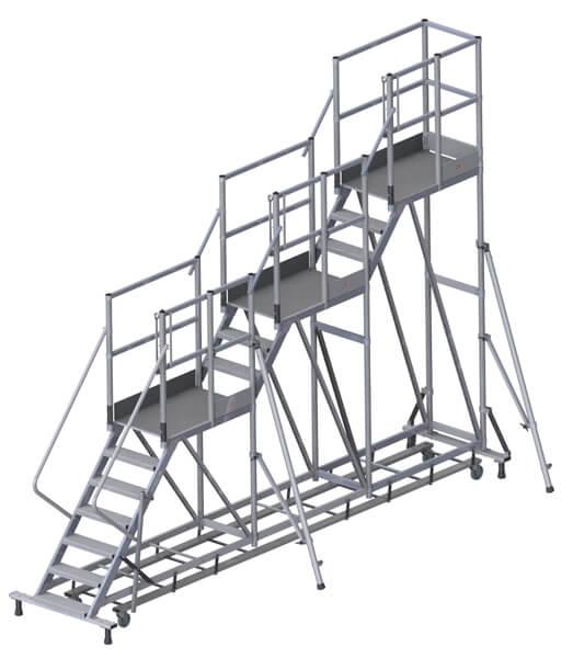piattaforma 3 livelli