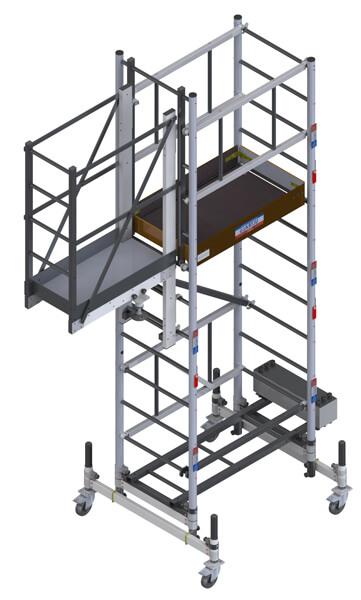 piattaforma a balcone med