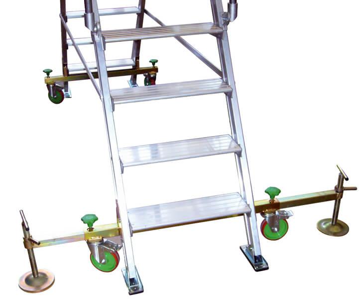 piattaforma in alluminio