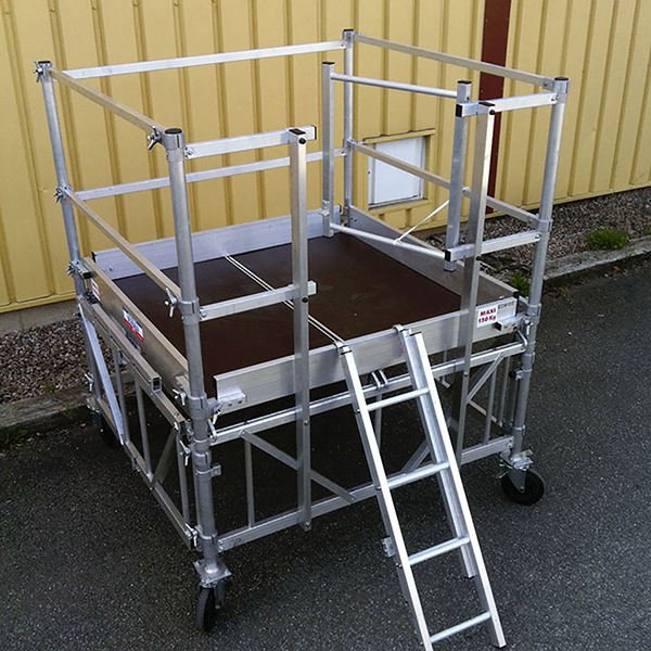 piattaforma alluminio pp