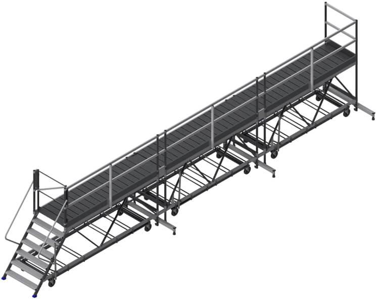 piattaforma di carico 9m
