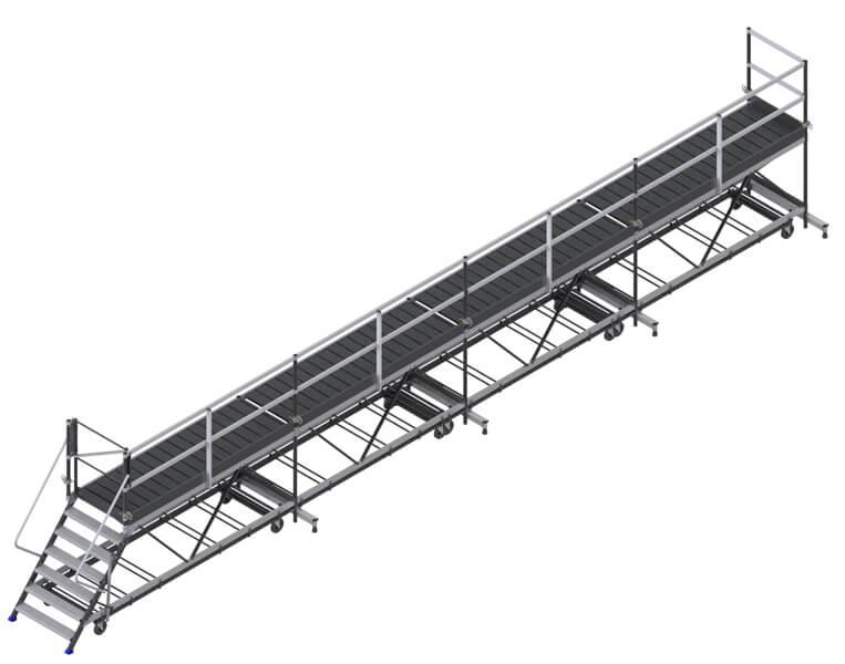 piattaforma di carico 12m