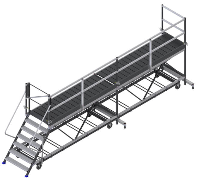 piattaforma di carico 6.00m